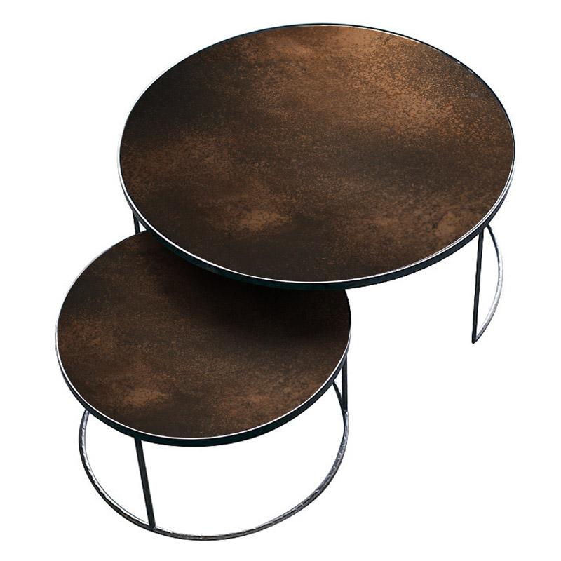 Ethnicraft-Nesting-salontafel-Bronze-1