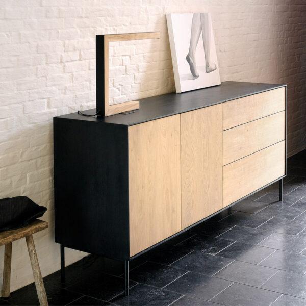 Ethnicraft-Dressoir-Blackbird-180-x-80-cm-3