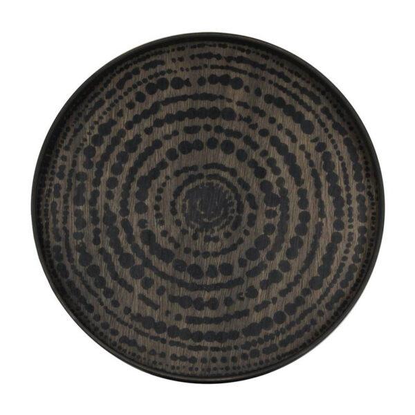 Ethnicraft-Black-beads-dienblad-2
