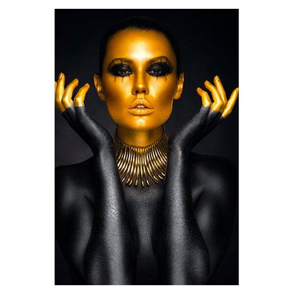 AluArt-Kunstwerk-Beautiful-Woman-Portrait