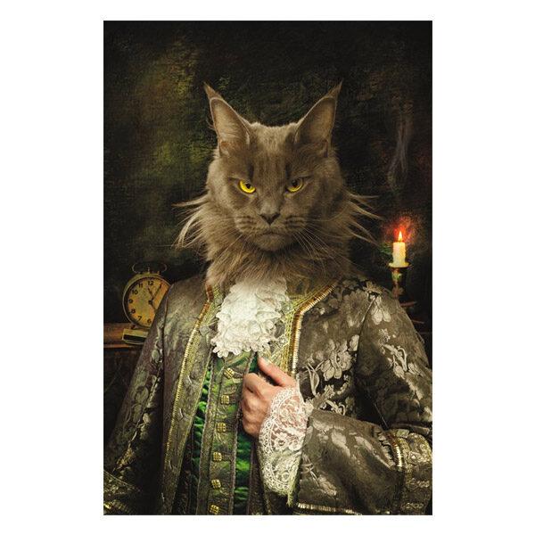 AluArt-Kunstwerk-Royal-Cat