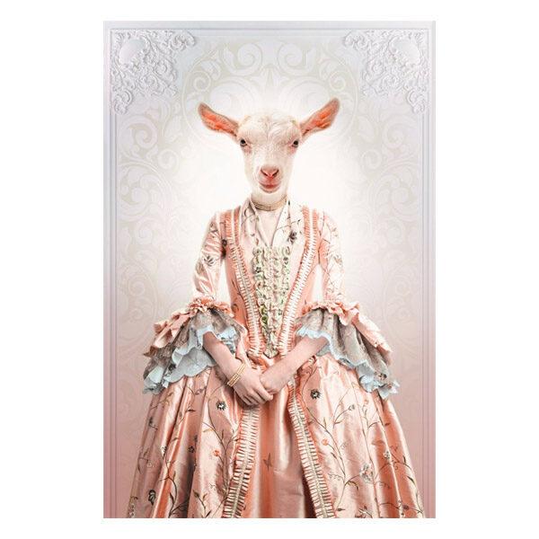 AluArt-Kunstwerk-Royal-Lady-Goat