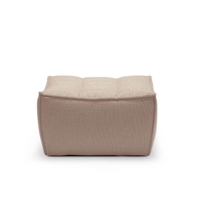 Ethnicraft-N701-Sofa-footstool-beige-1
