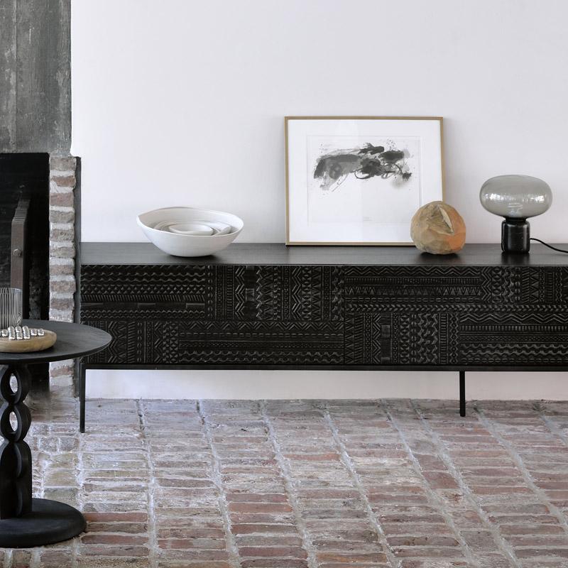 Ethnicraft-Teak-Tabwa-TV-meubel-160cm-4