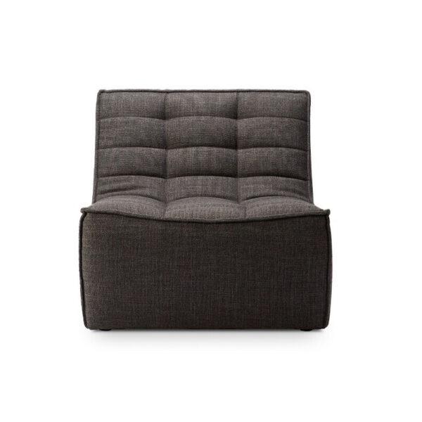 Ethnicraft-N701-Sofa-1-zit-grijs-1