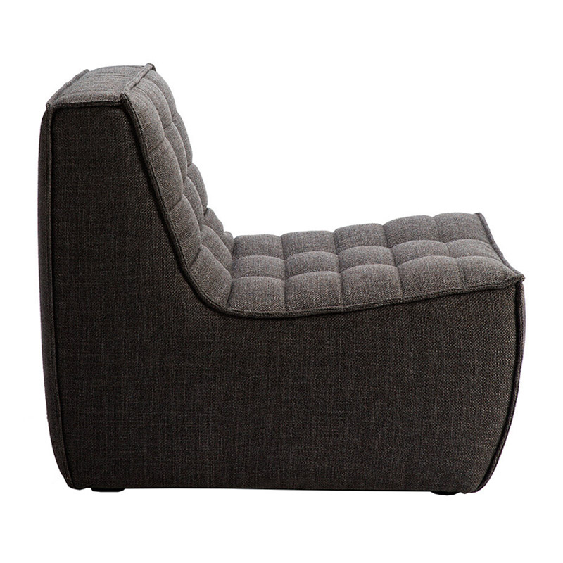 Ethnicraft-N701-Sofa-1-zit-grijs-2