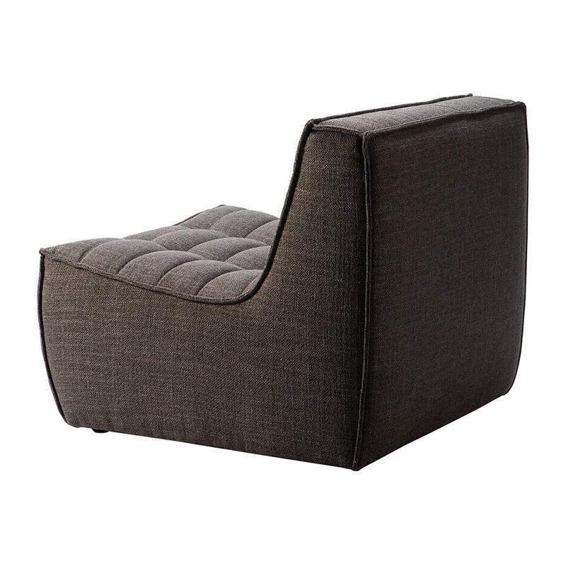 Ethnicraft-N701-Sofa-1-zit-grijs-4