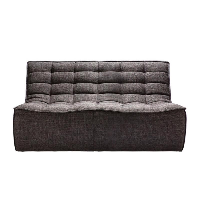 Ethnicraft-N701-Sofa-2-zit-grijs-1
