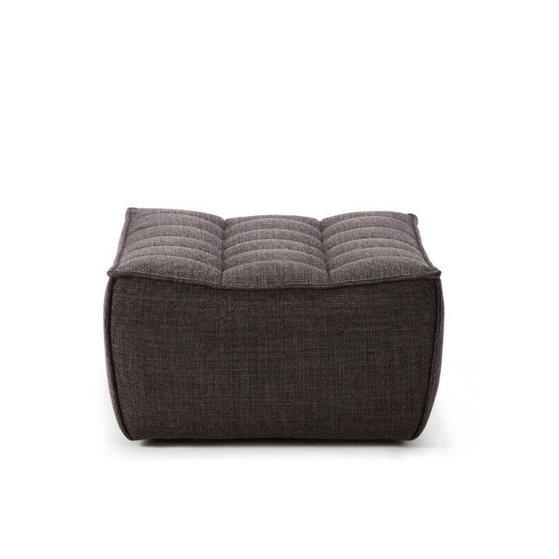 Ethnicraft-N701-Sofa-footstool-grijs-1