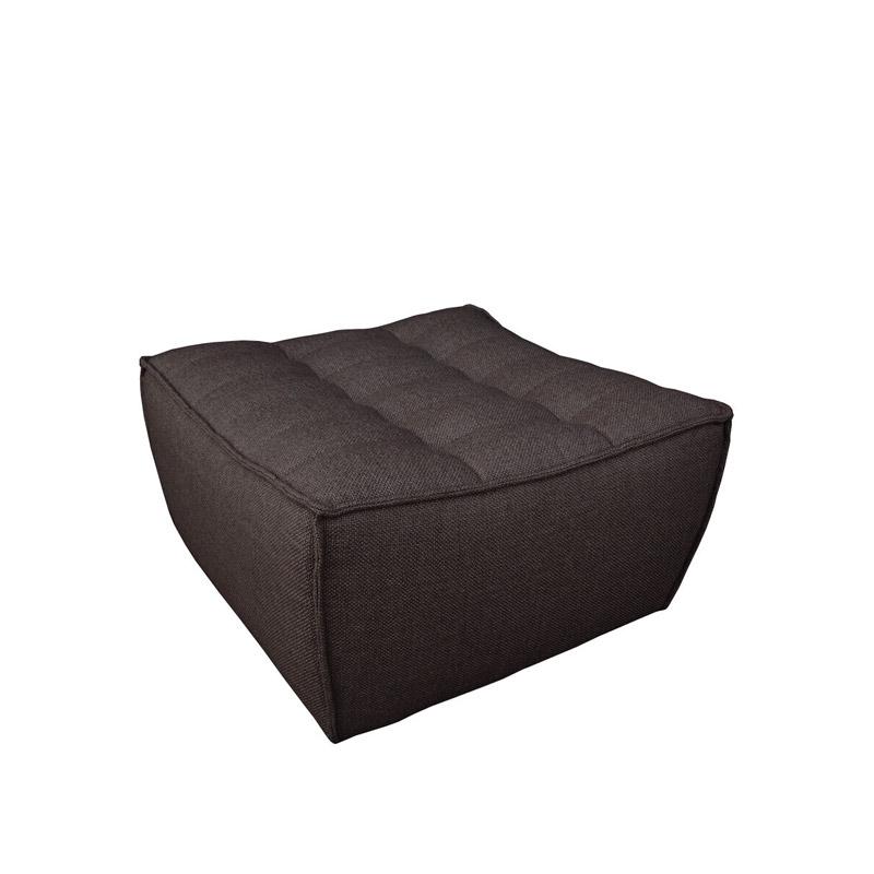 Ethnicraft-N701-Sofa-footstool-grijs-2