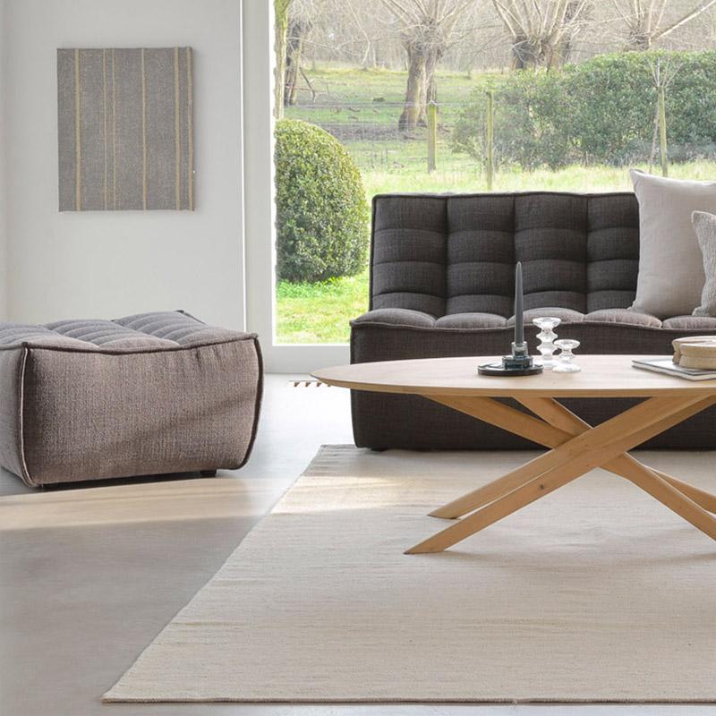 Ethnicraft-N701-Sofa-footstool-grijs-3