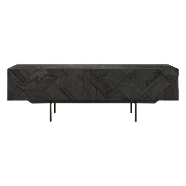 Ethnicraft-Teak-Graphic-tv-meubel-160cm-1