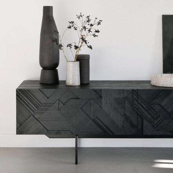 Ethnicraft-Teak-Graphic-tv-meubel-160cm-7