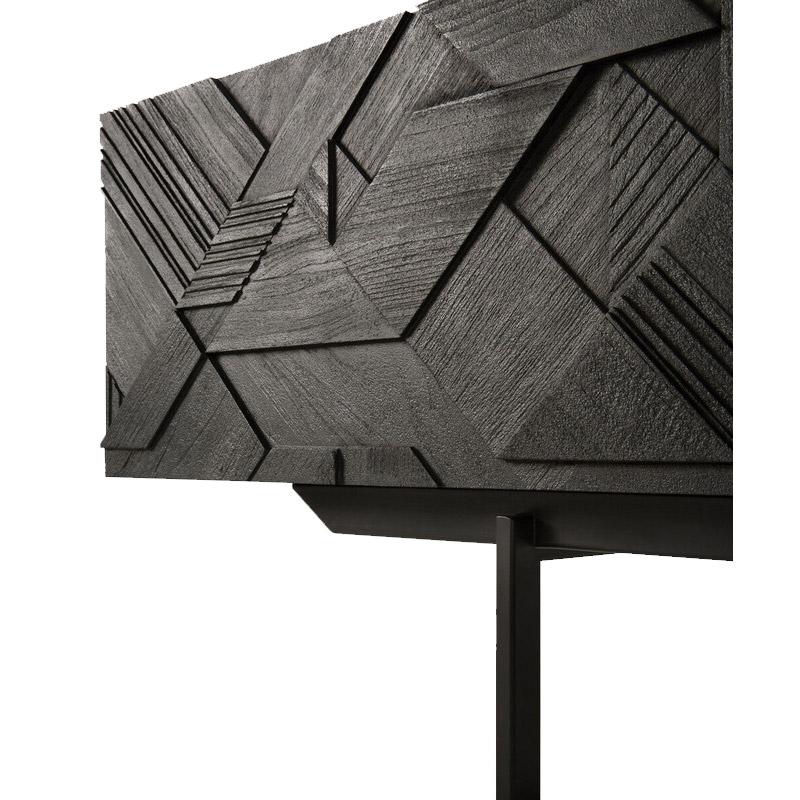 Ethnicraft-Teak-Graphic-tv-meubel-240cm-3