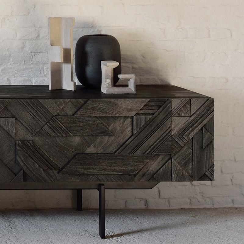 Ethnicraft-Teak-Graphic-tv-meubel-240cm-6