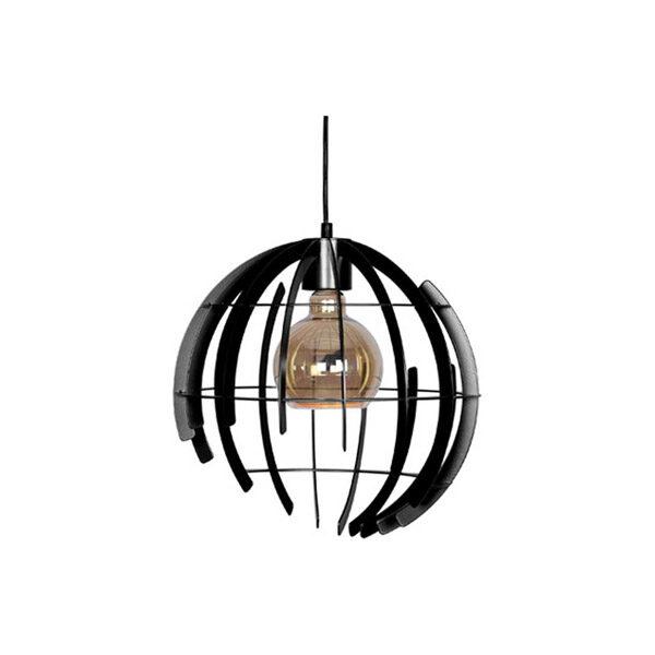 Ztahl-Hanglamp-Terra-35-cm-Zwart-1