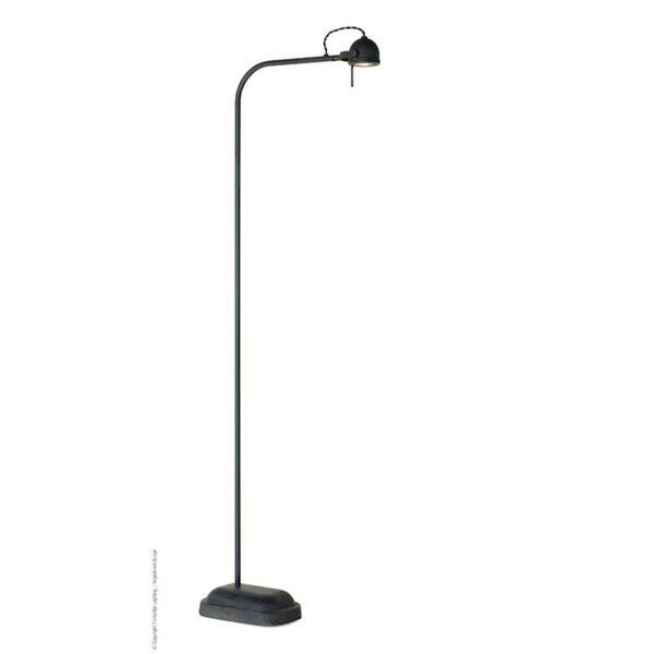 Frezoli Vloerlamp Spezia Zwart