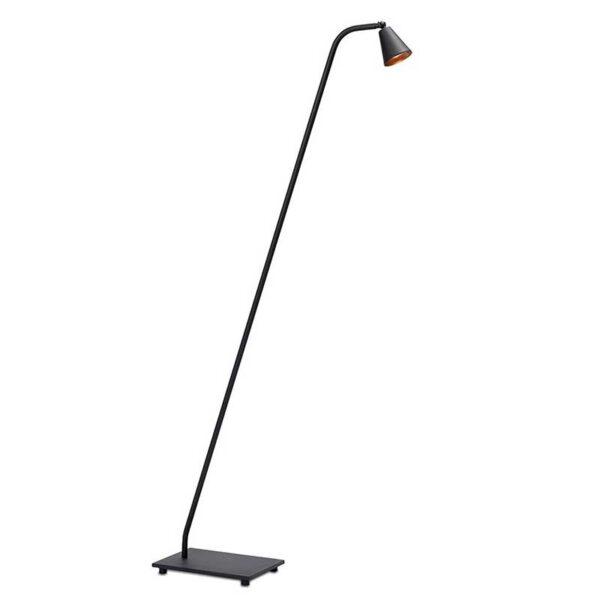 Vloerlamp Frezoli Stays Zwart